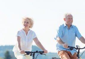 Active elderly couple in Chandler AZ