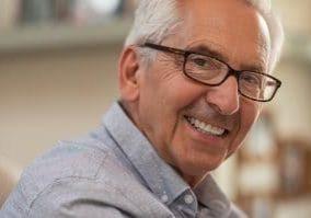 Happy elderly man in Chandler AZ